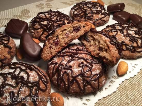 Овсяно-шоколадные талеры (Schoko-Haferflocken Taler)