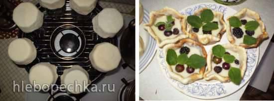 Корзиночки для салатов или десертов