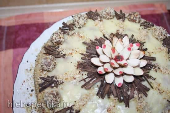Торт лавантальский с фундуком