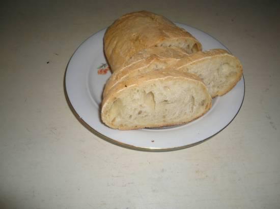 Хлеб Деревенский (на долгой опаре)