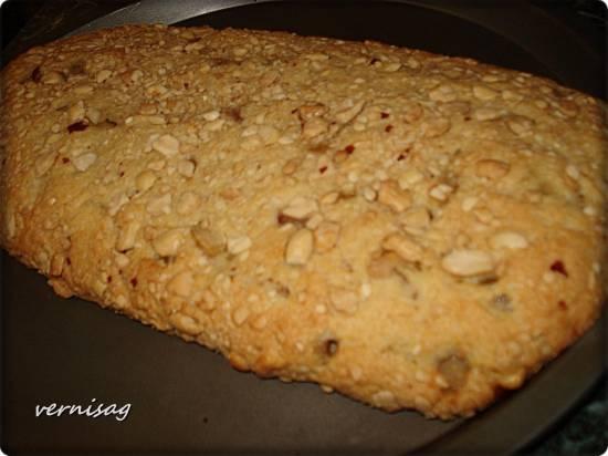 Пирог песочный ореховый с яблоками (пиццамейкер Princess 115000)