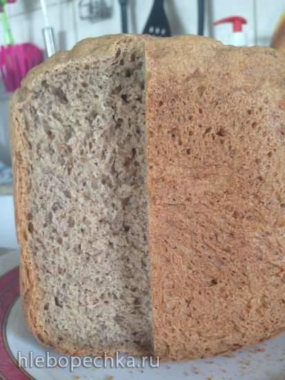Хлеб пшеничный яблочный с льняной мукой