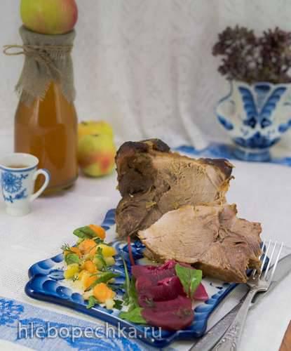 Свинина в Кальвадосе (Calvados-Nacken)