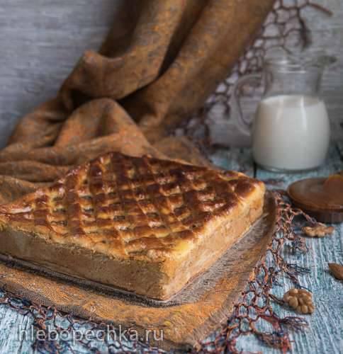 Торт-пляцок Ореховое наслаждение