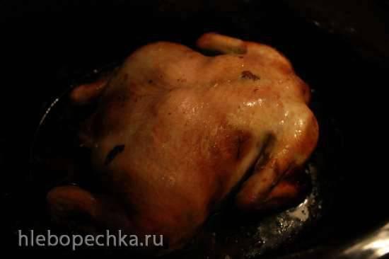 Курица в медовой глазури