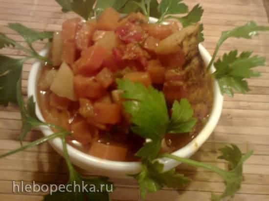 Морковный гуляш (Mоеhren-Gulasch)