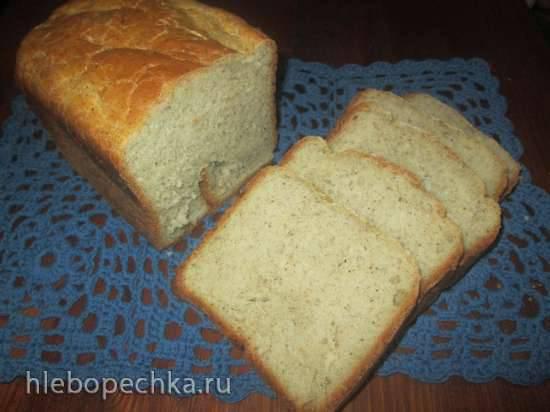 Хлеб пшенично-гречишный с грецкими орехами