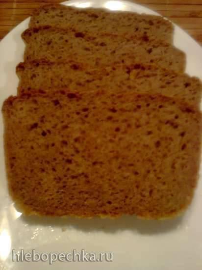 """Ржано-пшеничный хлеб """"Кислый Герман"""" (Der saure Hermann) Ржано-пшеничный хлеб """"Кислый Герман"""" (Der saure Hermann)"""