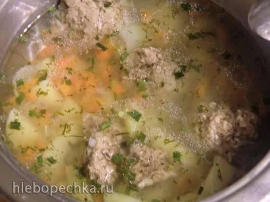 Рыбка с картофелем и рисом в скороварке