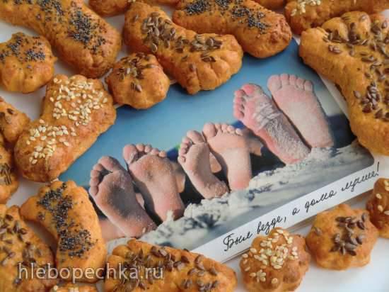 Печенье к пиву и вину Сырные ножки (Radeberger kaesfusse)