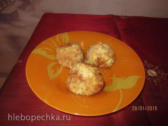 Рисовые шарики с сыром