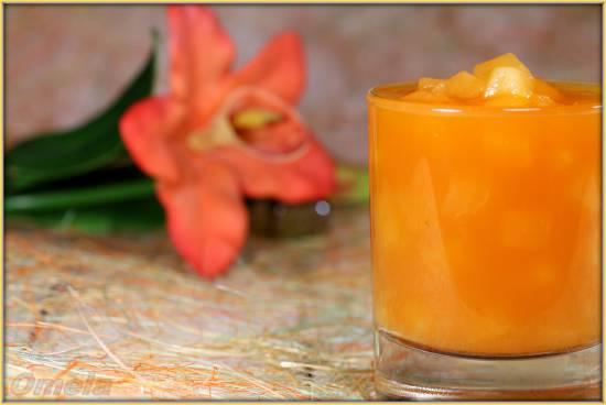 Морковно-яблочный кисель