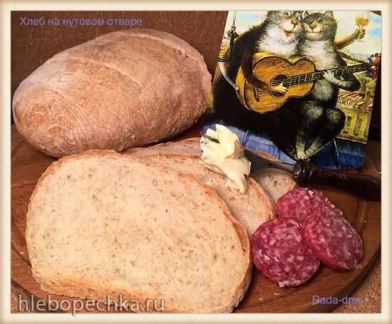 Пшеничный хлеб на нутовом отваре с отрубями (Рекицен)