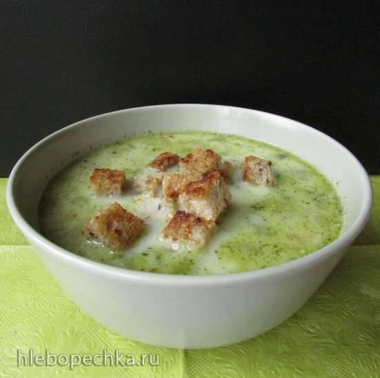 Шпревальдский суп из огурцов (Spreewaelder Gurkensuppe)