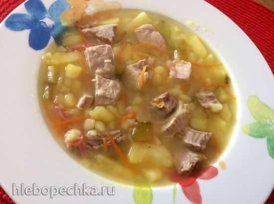 Шпреевальдский картофельный суп (Spreewаеlder Kartoffelsuppe)