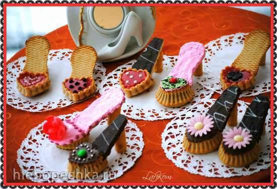 "Маффины ""Туфельки"" (Muffin-Schuhe)"