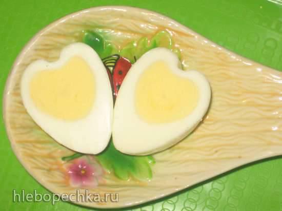 Яйцо Валентинка (варёное)