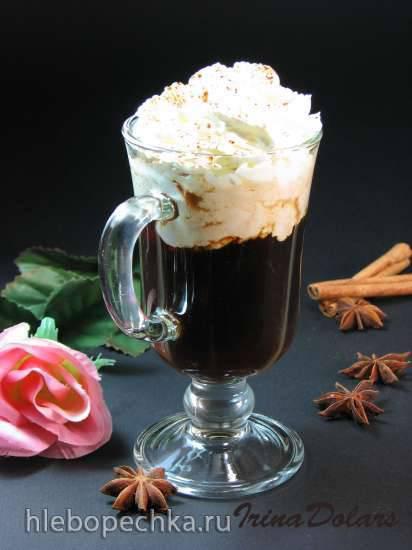 Кофе Фарисей с ромом и взбитыми сливками (Pharisaer)