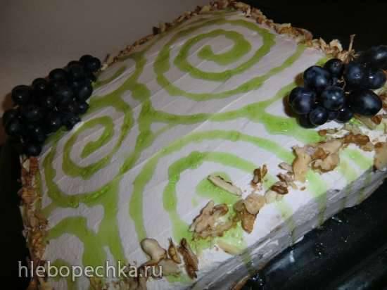 Торт Молочная девочка овсяно-фруктовая