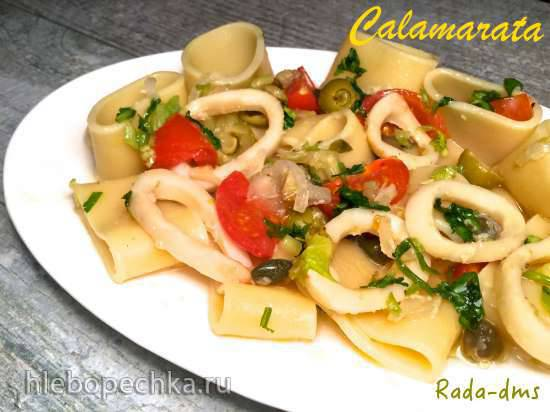 Неаполитанская паста Calamarata