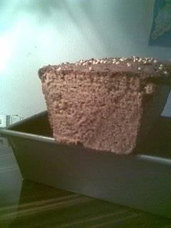 Хлеб ржаной на 100 % на ржано-кефирной закваске в духовке