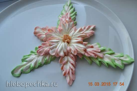 Цветок Необычный из крема
