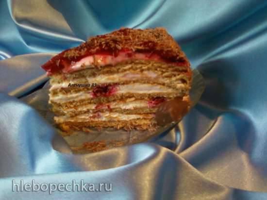 """Торт """"Десертный медовик"""""""