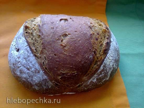 """Хлеб пшенично-ржаной """"Чечевичное зерно"""""""
