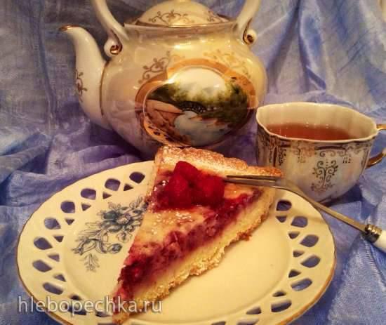 Тарт с малиной (пиццепечь Принцесс)