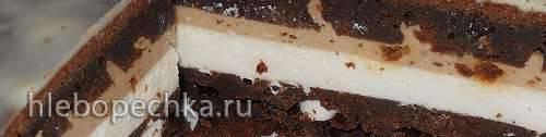 Мусс с жареным шоколадом