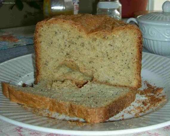 Деревенский хлеб с семенами