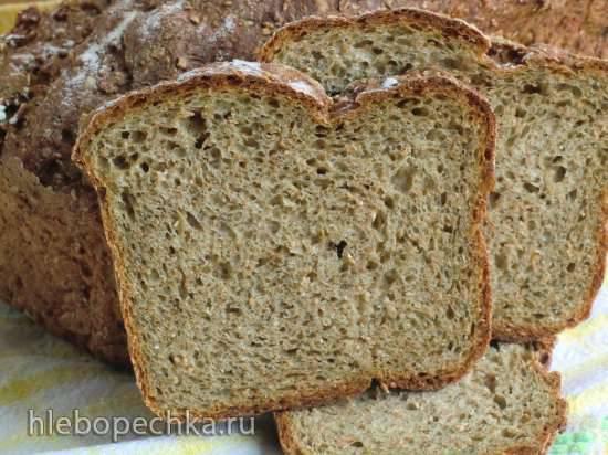 Хлеб отрубной с морской капустой