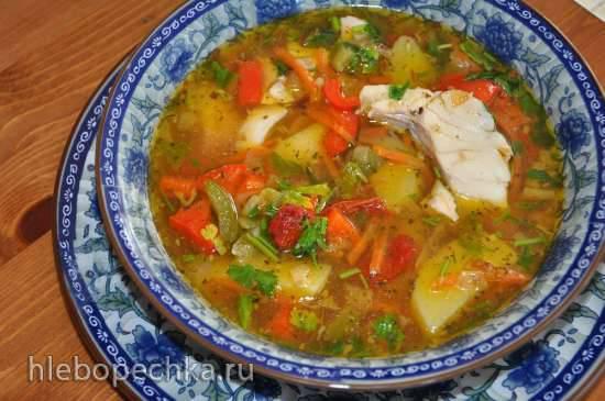 """Рыбный суп """"по-французски"""""""