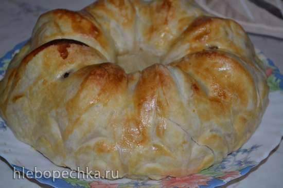 Слоеный пирог Белоснежка (Schneewittchenkuchen)