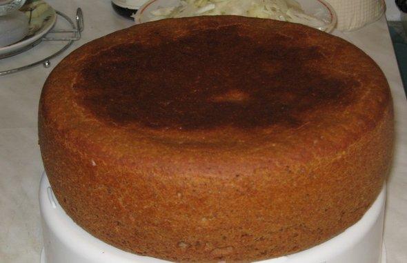 Хлеб сладкий с изюмом от Елены Бо в мультиварке Panasonic SR-TMH18