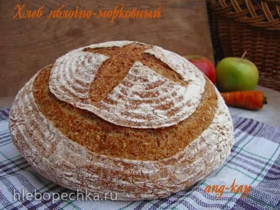 Хлеб яблочно-морковный