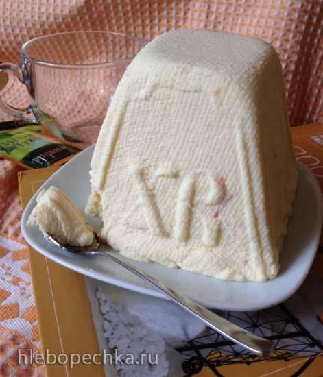 Пасха цитрусовая с вареньем (сырая)