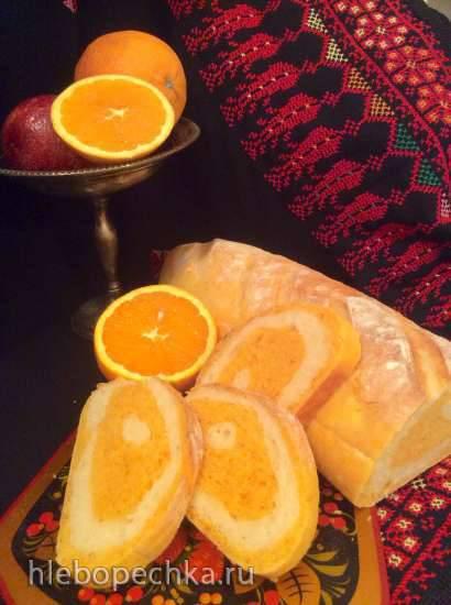 Два вида пшенично-морковного хлеба