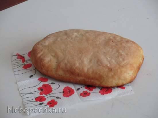 Хлеб по-деревенски на биге