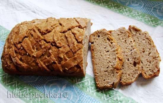 Ржано-пшеничный хлеб с пророщенной пшеницей Ржано-пшеничный хлеб с пророщенной пшеницей
