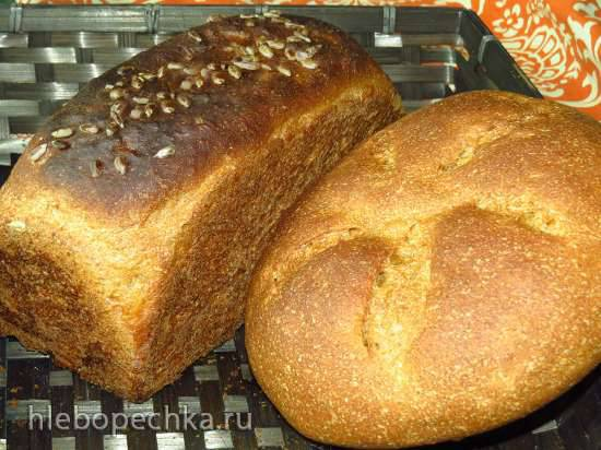 Ржано-пшеничный хлеб Воздушный с семечками