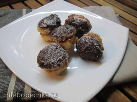 Венское печенье с абрикосовой прослойкой