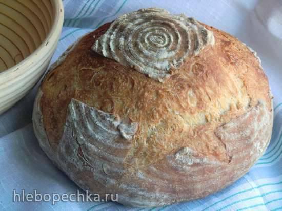 Пшеничный хлеб 1сорта на деземе (духовка)