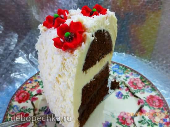 Кекс (торт) Шоколадный № 2