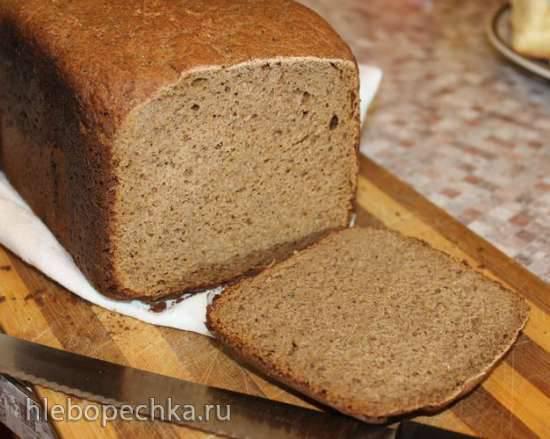 Ржаной цельнозерновой в хлебопечке