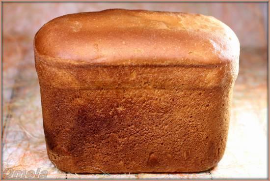 Кунжутный хлеб из муки высшего сорта на закваске