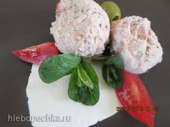 Мороженое Мятные томаты