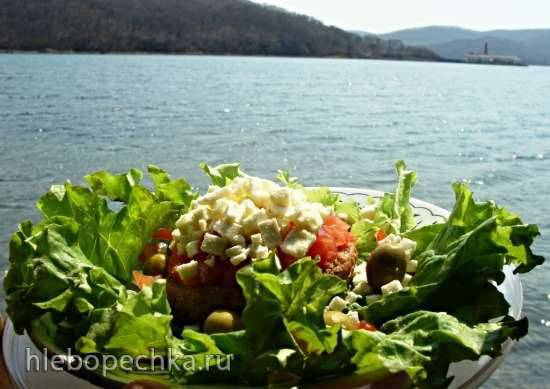 Греческий бутерброд ''Дакос''