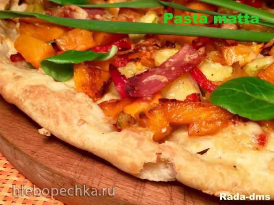 """Итальянское постное """"безумное"""" тесто (Pasta matta)"""