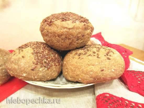 Хлебные булки со специями на разный вкус (2 варианта приготовления) духовка